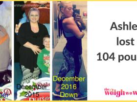 Ashley Lost 104 Pounds