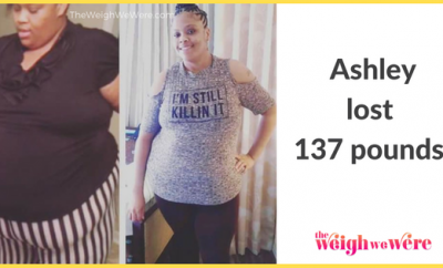 Before And After: Ashley Shed 137 Pounds And Went From Fat To Fit