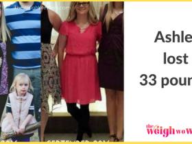 Ashley Lost 33 Pounds