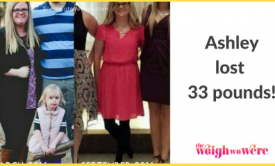 Weight Loss Success Stories: Ashley Drops 33 Pounds And Starts Living