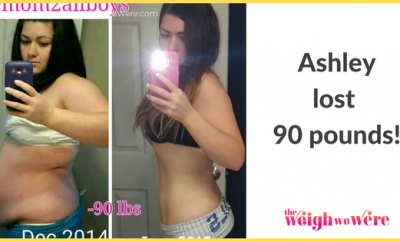 Weight Loss Success Stories: Ashley Lost 90 Pounds In An Amazing Mommy Makeover