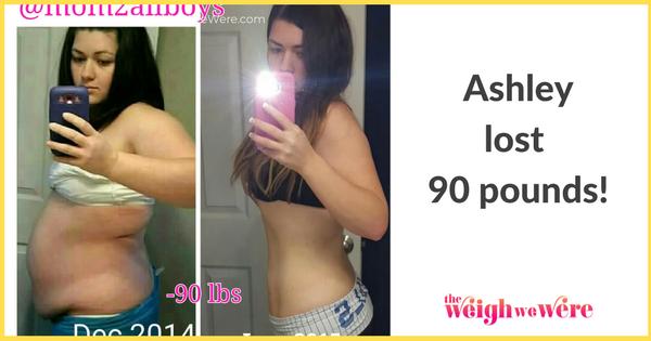 Ashley Lost 90 Pounds