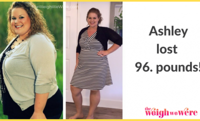 Weight Loss Before and After: Ashley Lost 96 Pounds And Gets Her Life Back