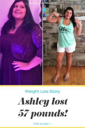 Ashley Lost 57 Pounds