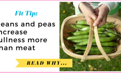 Beans and peas increase fullness more than meat| via TheWeighWeWere.com