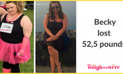 Weight Loss Success Stories: Becky Cuts 52.5 Pounds On Her Weight Loss Journey