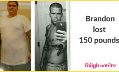 Brandon Lost 150 Pounds