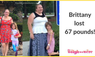 Weight Loss Before and After: Brittany Cut 67 Pounds Gained During Pregnancy
