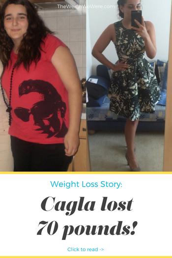 Cagla Lost 70 Pounds