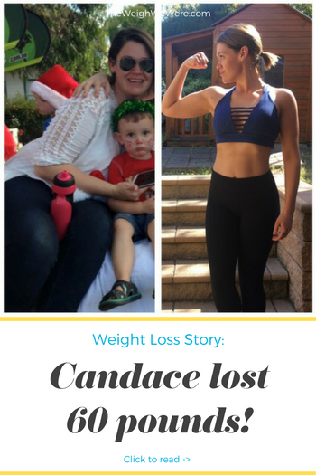 Candace lost 60 pounds! See my before and after weight loss pictures, and read amazing weight loss success stories from real women and their best weight loss diet plans and programs. Motivation to lose weight with walking and inspiration from before and after weightloss pics and photos.