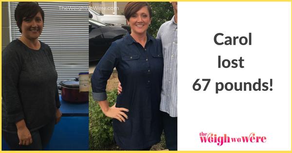 Carol Lost 67 Pounds