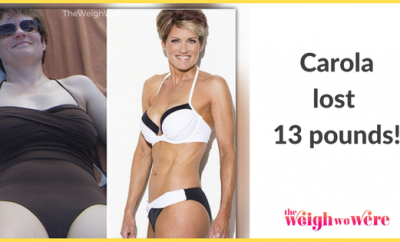 Carola Lost 13 Pounds