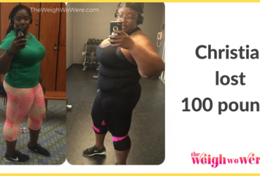 Read her story for inspiration! Black women before and after weight loss transformation. African American female fitness motivation workout photos and pictures. 30, 40, 50, 60, 100 pound weightloss Christian Lost 100 Pounds