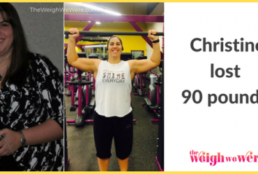 Christine Lost 90 Pounds