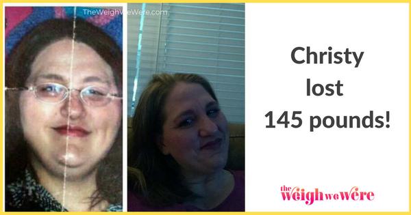 Christy Lost 145 Pounds