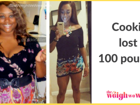 Read her story for inspiration! Black women before and after weight loss transformation. African American female fitness motivation workout photos and pictures. 30, 40, 50, 60, 100 pound weightloss Cookie Lost 100 Pounds