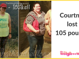 Courtney Lost 105 Pounds