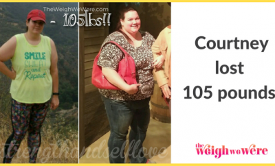Weight Loss Before and After: Courtney Lost 105 Pounds In One Year