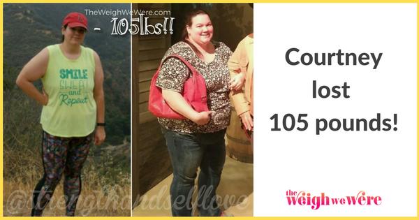 Courtney Lost 105 Pounds