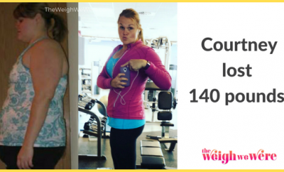 Courtney Lost 140 Pounds