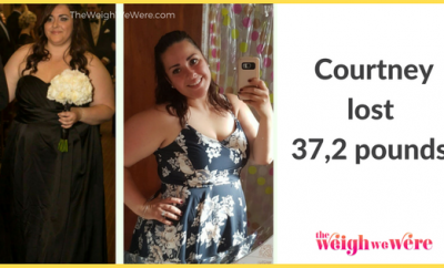 Weight Loss Success Stories: Courtney's 37.2 Pound Weight Loss Journey