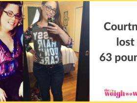 Courtney Lost 63 Pounds