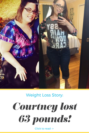 Courtney lost 63 pounds! See my before and after weight loss pictures, and read amazing weight loss success stories from real women and their best weight loss diet plans and programs. Motivation to lose weight with walking and inspiration from before and after weightloss pics and photos.