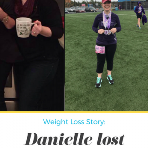 Danielle lost 41 pounds! See my before and after weight loss pictures, and read amazing weight loss success stories from real women and their best weight loss diet plans and programs. Motivation to lose weight with walking and inspiration from before and after weightloss pics and photos.