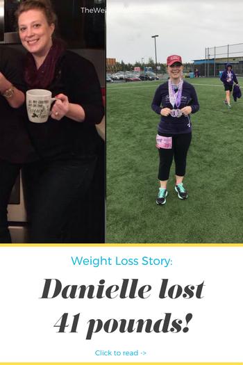 Danielle Lost 41 Pounds