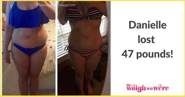Danielle Lost 47 Pounds