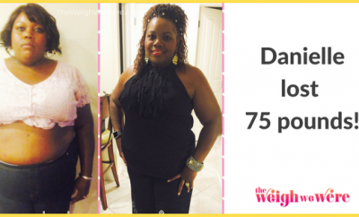 Before And After: Danielle Lost 75 Pounds And Made The Decision to Save Her Life