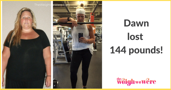 Real Weight Loss Success Stories Dawn Loses 144 Pounds