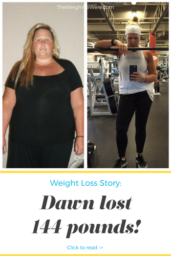Dawn lost 144 pounds! See my before and after weight loss pictures, and read amazing weight loss success stories from real women and their best weight loss diet plans and programs. Motivation to lose weight with walking and inspiration from before and after weightloss pics and photos.