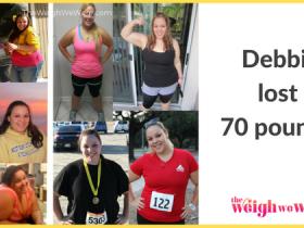 Debbie Lost 70 Pounds
