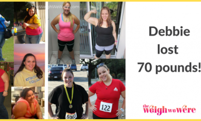 Weight Loss Before and After: Debbie Gets Skinny After 70 Pound Weight Loss
