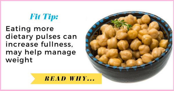 Eating more dietary pulses can increase fullness, may help manage weight| via TheWeighWeWere.com