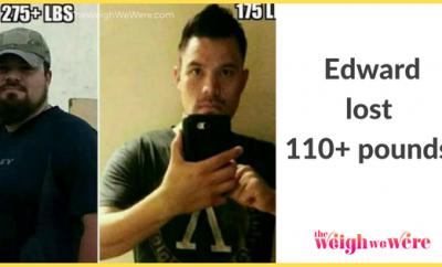 Edward Lost 110 Pounds
