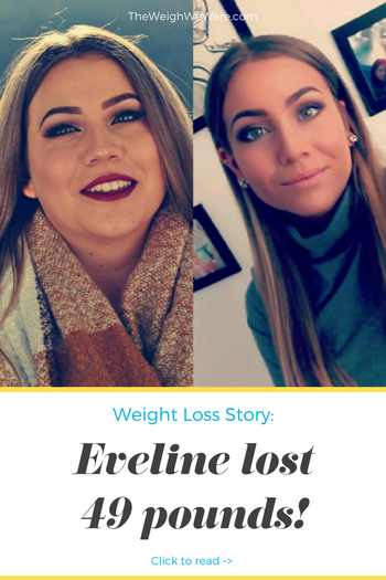 Eveline lost 49 pounds! See my before and after weight loss pictures, and read amazing weight loss success stories from real women and their best weight loss diet plans and programs. Motivation to lose weight with walking and inspiration from before and after weightloss pics and photos.