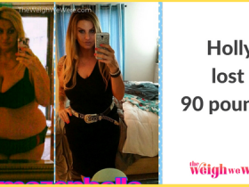 Holly Lost 90 Pounds