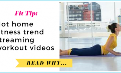 Hot home fitness trend: streaming workout videos| via TheWeighWeWere.com