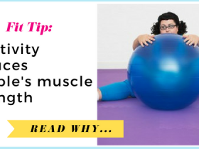 Inactivity reduces people's muscle strength| via TheWeighWeWere.com