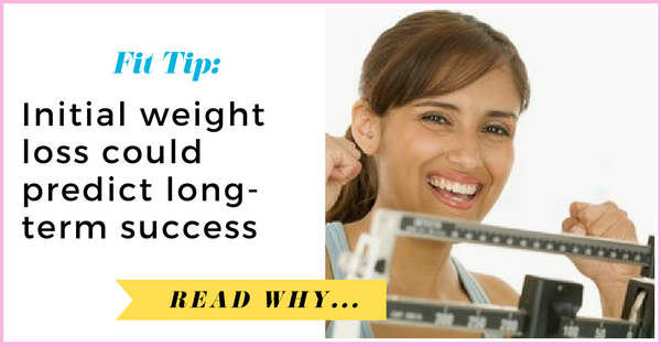 Initial weight loss could predict long-term success| via TheWeighWeWere.com
