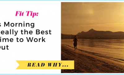 Is Morning Really the Best Time to Work Out?| via TheWeighWeWere.com