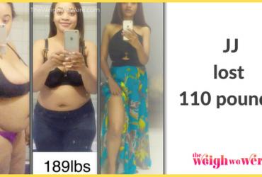 JJ Lost 110 Pounds