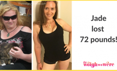 Before and After PCOS – Jade's 72 Pound Weight Loss Journey