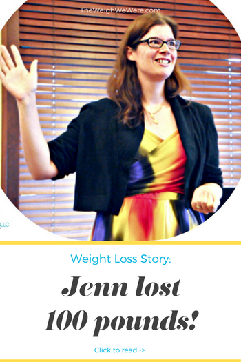 Jenn lost 100 pounds! See my before and after weight loss pictures, and read amazing weight loss success stories from real women and their best weight loss diet plans and programs. Motivation to lose weight with walking and inspiration from before and after weightloss pics and photos.