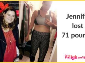 Jennifer Lost 71 Pounds
