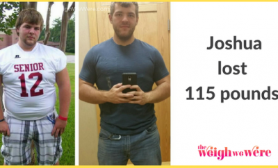 Joshua Lost 115 Pounds