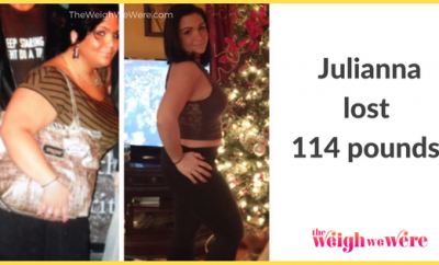 114 Pounds Lost: She didn't believe she could, but she did! How I lost over 110+lbs!