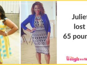 Juliet Lost 65 Pounds